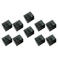10PCS 12V DC Mini Power Relay HYV6-DC12V-C SPDT 7A 20A PCB Mount with 5 Pin