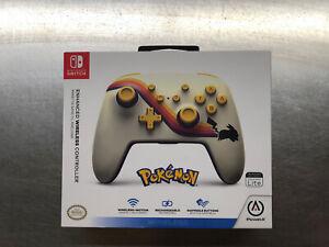 PowerA Pokemon Retro Rechargeable Wireless Controller Nintendo Switch