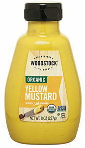 Woodstock Organic Yellow Mustard -- 8 oz