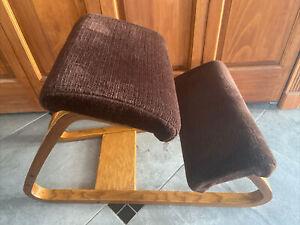 VINTAGE Mid Century Kneeling Chair ERGONOMIC Bentwood OFFICE Computer