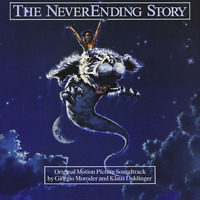 LIMAHL. GIORGIO MORODER-NEVER ENDING STORY OST-IMPORT CD WITH JAPAN OBI E99