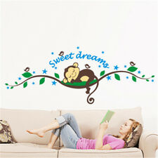 Removable Monkey Forest Cartoons Wall Stickers Decals Decor Kid's Room Decor