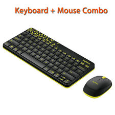 1 Set Wireless Keyboard and Moe Logitech MK240 for Laptop Desktop USB For PC 3Y