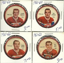 1961-62 Shirriff coin #108 Bill Hicke
