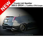 For Cadillac CTS Coupe 11-14 ABS Trunk Rear Deck Flush Spoiler Unpainted Primer  for sale