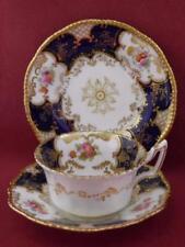 Porcelain/China Decorative Blue Coalport Porcelain & China