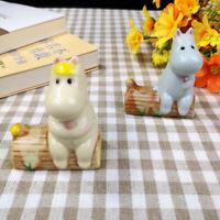 Hippo Chopstick Rest Ceramic  Spoon Fork Holder Household Table Stand Flatware