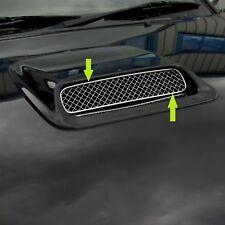 Invincible Intercooler bonnet scoop mesh grille for Toyota Hilux Mk6 05+ pickup