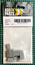 ADD ON PARTS 35-0080 - UNIVERSAL METAL CASES - 1/35 RESIN KIT NUOVO