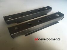 MK2 MK1 Ford Escort Rally Style Front Seat Rails Swaged Holes