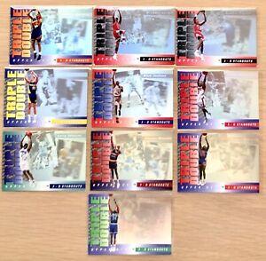 1993-94 Upper Deck NBA 3D Standouts TRIPLE DOUBLE 10 Card COMPLETE SET!! 🔥 MJ +
