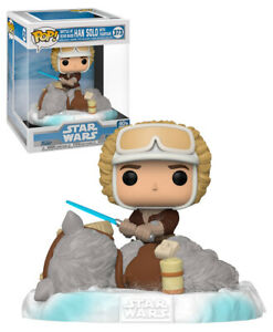 Funko POP! Deluxe Star Wars #372 Battle At Echo Base: Han Solo With Tauntaun NEW