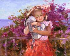 Disney Fine Art Giclee EEYORE'S SUNNY DAY by Irene Sheri WINNIE THE POOH EEYORE