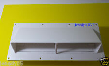 RV Mobile Home Parts  Range hood Stove Vent With Damper Ventline  Polar White.