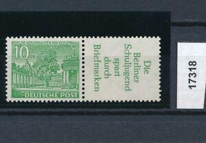 17318) Perfekt: Berlin Zd W 21 einwandfrei postfrisch ** + gepr. BPP (KW 90,00!)