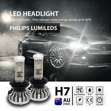 H7 PHILIPS Light Beads LED Headlight Kit Bulb 6000K Replace Halogen Xenon CANBUS