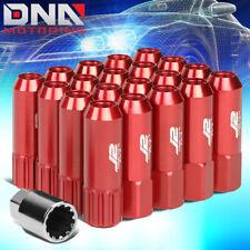 Rojo Sickspeed Lug NUTS 60//90mm spiked m12x1.25 tuercas de rueda 4er