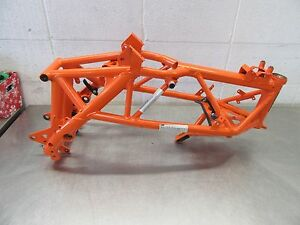 EB234 2014 14 KTM 690 DUKE FRAME ASSEMBLY STRAIGHT NON REPAIRABLE STATUS
