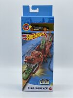 ✅ Hot Wheels City Dino Launcher with Die-Cast Vehicles Car Play Set Mattel