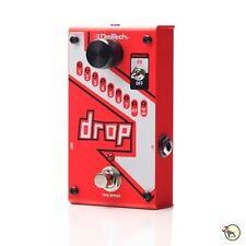 Digitech Drop Polyphonic Drop Tune Pitchshifter True Bypass Guitar Effects Pedal