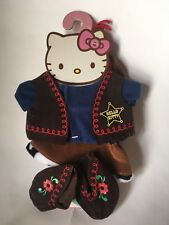 New Rare Hello Kitty Dress up doll Me Cowgirl Western Costume Sanrio Clothes