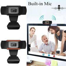HD USB Webcam Camera Video Autofocus Built-in Mic Computer PC Laptop Desktop US