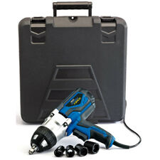 "Draper 82994 Storm Force 240V 1000W 1/2"" Dr. Impact Wrench Gun Kit Inc 4 Sockets"