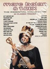 Marc Bolan & T.Rex The Essential Collection LP Advert