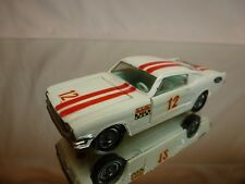 CORGI TOYS 325 FORD MUSTANG FASTBACK 2+2 - WHITE 1:43 - VERY GOOD CONDITION