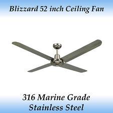 Blizzard 316 Marine Grade Stainless Steel 1300mm 52 inch Outdoor Ceiling Fan