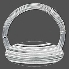 45 Feet Silver Anodized Aluminum Wire 1.5MM Round 14 Gauge