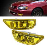 Left & Right Side Front Bumper Fog Light Lamp Fit for Toyota Corolla 2001-2002