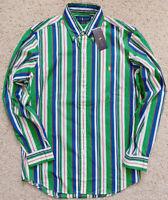 NWT Polo Ralph Lauren CP-93 Men's Multi-color Long Sleeve Striped Shirt S-2XL