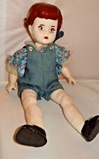 Vintage Hand Made Glazed Ceramic Girl Doll