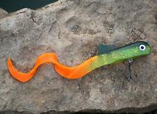 1PCS Mizugiwa Unicorn Dawg Pike Musky Fishing Lure Soft Plastic Crank Jerk Baits