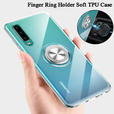 Magnetic Shockproof Finger Ring Holder Clear Case Cover For Huawei Nova 4