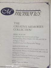 Creative Memories 8 x 10 Ruled Scrapbook Pages NEW