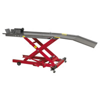 Motorcycle Lift 365kg Capacity Hydraulic SEALEY MC365