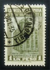 nystamps Colombia Stamp # 433 Used $60 J15y470