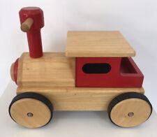 John Crane Pintoy Ride On Wooden Train Toy John Lewis