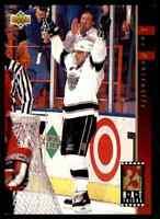 1993-94 Upper Deck Hat Tricks Luc Robitaille #HT17