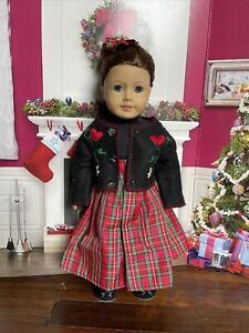 """Doll clothes -HANDMADE Skirt & Sweater Set- Fits American Girl Doll & 18"""" dolls"""