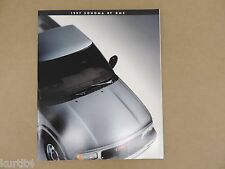1997 GMC Sonoma SL SLS SLE Original Sales Brochure Dealer Catalog