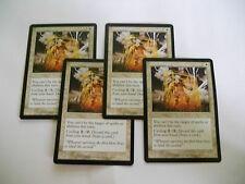 4x MTG Gilded Light-Luce Dorata Magic EDH SCG Flagello Scourge ITA-ING x4