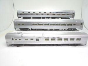 Walthers Proto Ho Budd Passenger cars(3), NYC