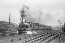 OLD TRAIN PHOTO Caledonian Railway steam locomotive and passenger train No 14382
