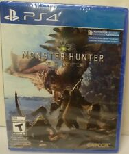 Video Game PS4 Monster Hunter World NEW SEALED
