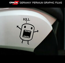 Baby Domo-kun Kill Hellaflush JDM Car vinyl Decal Quality Sticker