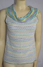 missoni sleeveless knit top sweater size euro 44 M lovely