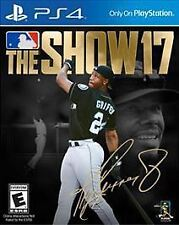 MLB The Show 17 (Sony PS4, 2017) NEW *Factory Sealed*